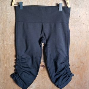 Lululemon gray capri pants